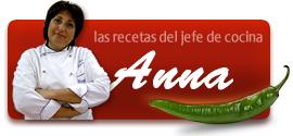 Recetas sin gluten de la Chef Anna